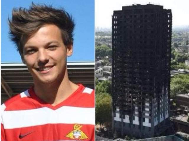 Louis Tomlinson has joined the galaxy of stars for a charity single for Grenfell Tower.