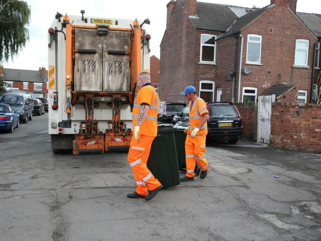 Bin collections have been suspended.