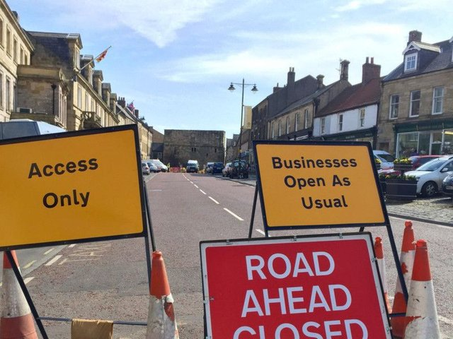 North Yorkshire County Council' street works teamhas previously carried out visual inspections