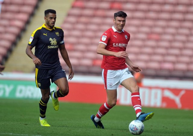 SEASON OVER: Barnsley striker Kieffer Moore. Picture Tony Johnson.