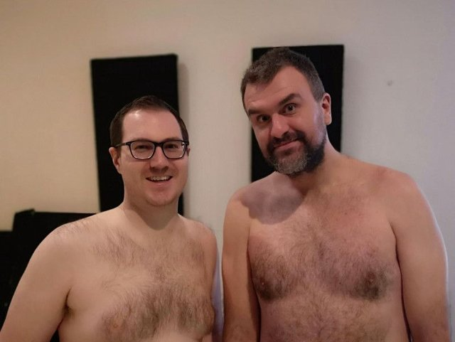 Jon McClure revealed his struggles on the Naked Podcast with Adam Oxley. Picture: BBC