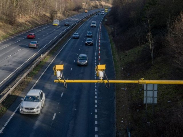 Average speed cameras are coming back to the M621
