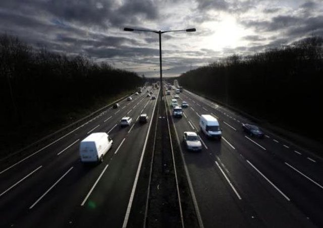 Planned roadworks for the motorways