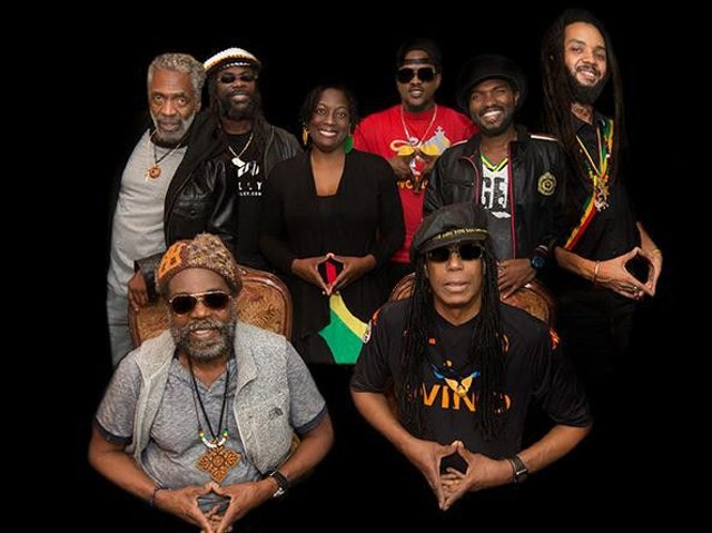 Bob Marley's sound machine The Wailers on a 14 date UK tour playing Legend - the biggest selling reggae album of all time.