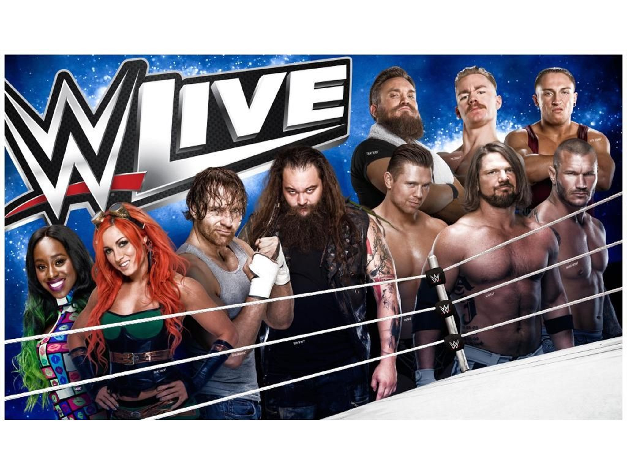 WIN: WWE LIVE Sheffield Arena wresting tickets and goody ...