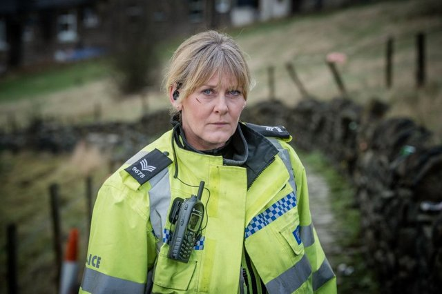 Sarah Lancashire as Sergeant Catherine Cawood in Happy Valley