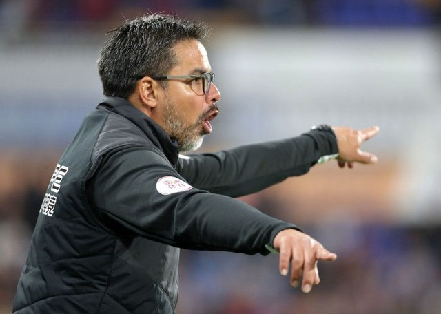 Huddersfield Town head coach David Wagner on the touchline during the Premier League defeat to Liverpool last Saturday (Picture: Richard Sellers/PA Wire).