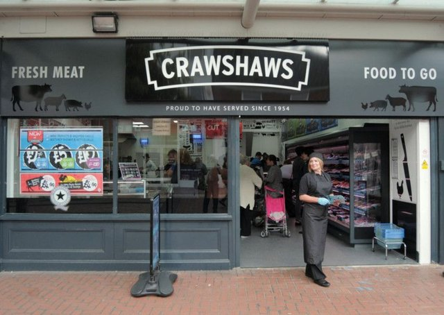 Feature pics of Crawshaws Butchers new shop at Worksop, on their open day