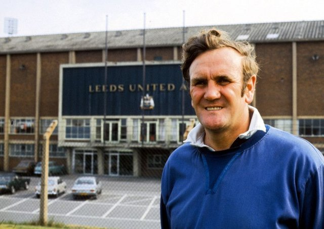 Legendary Leeds United manager Don Revie, pictured at Elland Road in 1971, was renowned for compiling detailed information on every player in opposing teams.