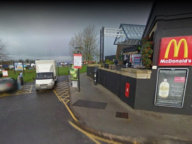 Can you help? The incident happened here at Woodall Services. Photo: Google
