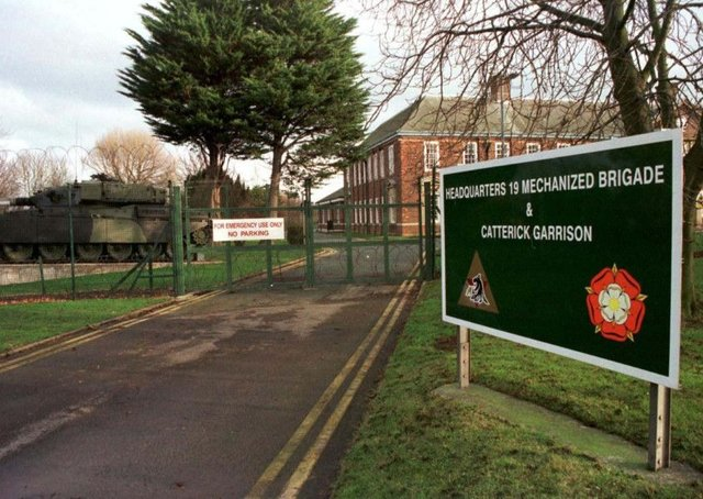 Catterick Garrison in North Yorkshire. Library image.
