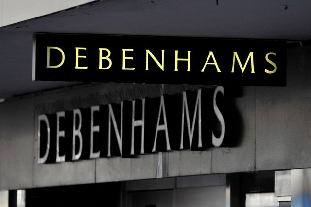 "File photo of a Debenhams store, as the department store chain warned that ""volatile"" conditions on the high street could impact full-year profits. PRESS ASSOCIATION Photo. Issue date: Tuesday June 27, 2017.  Photo: Tim Ireland/PA Wire"