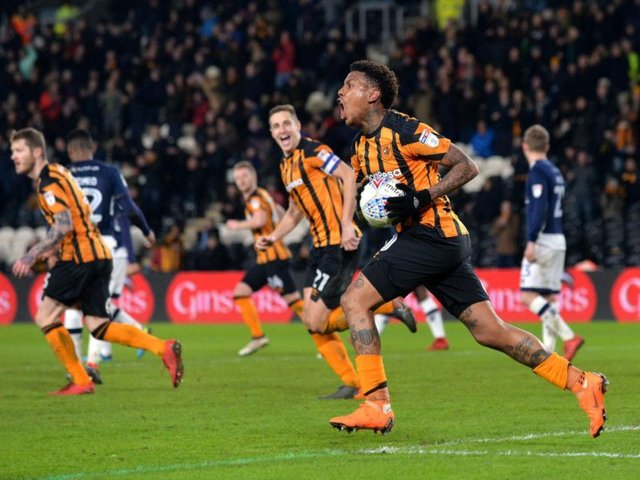 Abel Hernandez struck on his return to action for the first time since August.
