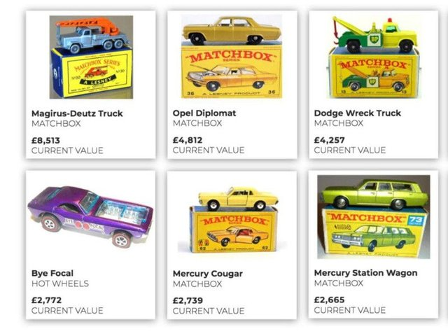 Do You Own One Of These Toy Cars That Could Be Worth Thousands Of Pounds Yorkshire Post