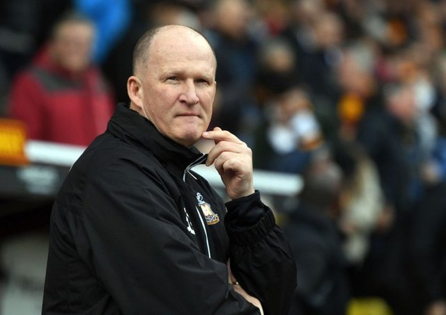 Bradford City manager Simon Grayson (Picture: Jonathan Gawthorpe).