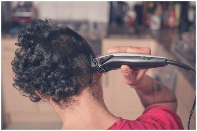 As hairdressers and barber shops remain temporarily closed, many across the UK have been getting creative with cutting their own hair at home - with some interesting results (Photo: Shutterstock)