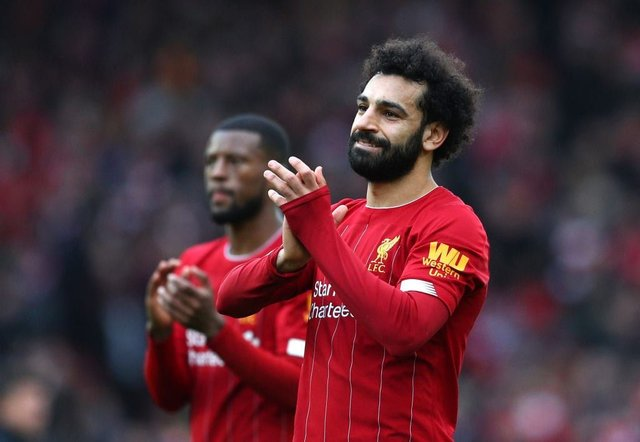 Mo Salah's Liverpool currently top the league (Getty Images)