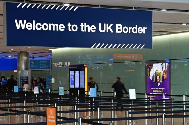New quarantine rules for arrivals in the UK will be in place from 8 June (Getty Images)