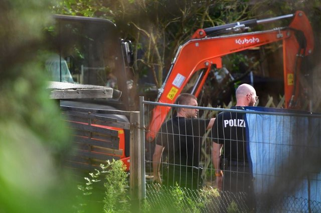 German police are searching an allotment in Hanover, in connection to the investigation of the disappearance of Madeleine McCann (Photo Alexander Koerner/Getty Images)