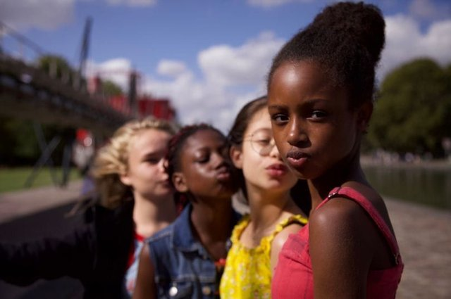 The film has come under fire for its portryal of young girls (Photo: Netflix)