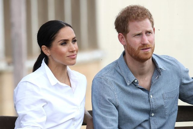 "Meghan Markle has told Oprah Winfrey that the royal family could not expect her and Prince Harry to remain silent if they are ""perpetuating falsehoods about us"" (Photo: Shutterstock)"