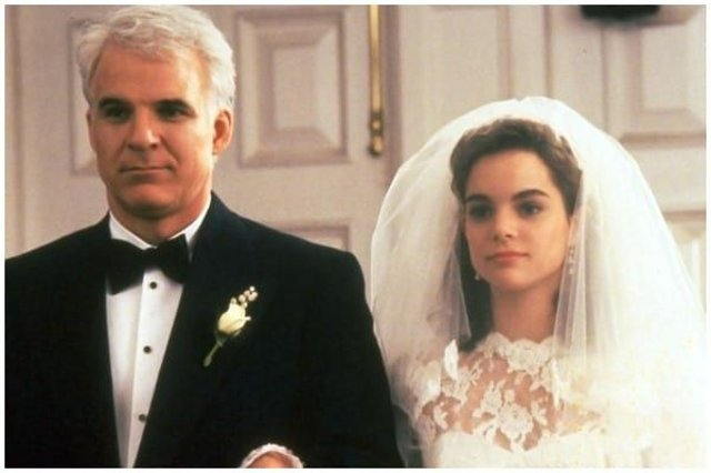 Popular '90s film Father of the Bride, starring Steve Martin and Diane Keaton, will soon return for a reunion (Photo: Touchstone Pictures)