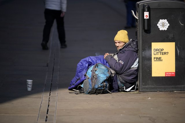 One in seven adults in England have become more worried about becoming homeless due to the pandemic (Photo: Christopher Furlong/Getty Images)