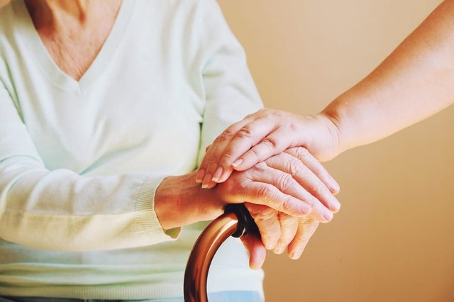 Care home residents in England will be allowed two regular indoor visitors from mid-April, the Government has announced (Photo: Shutterstock)