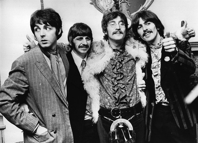 Which Beatles album was named the greatest of all time by Rolling Stone magazine? (Getty Images)