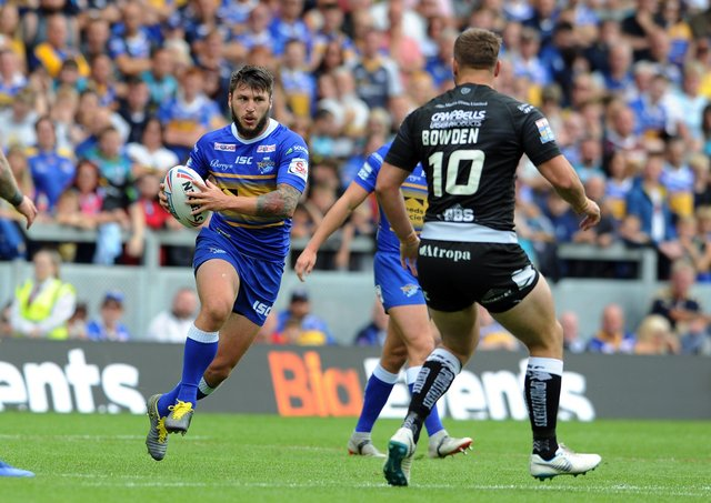 PLANNING AHEAD: Leeds Rhinos' Tom Briscoe.  Picture: Tony Johnson.