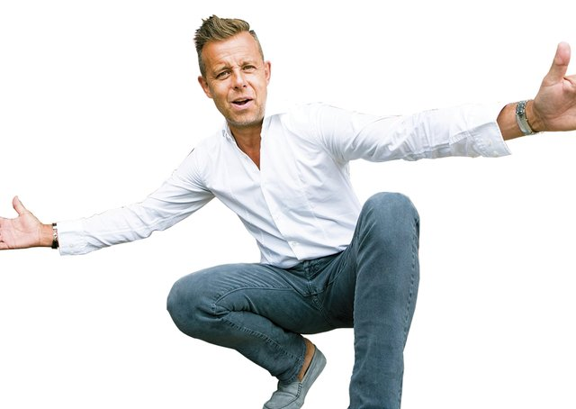 Pat Sharp will compere the We Love the 90s show at the First Direct Arena, Leeds.