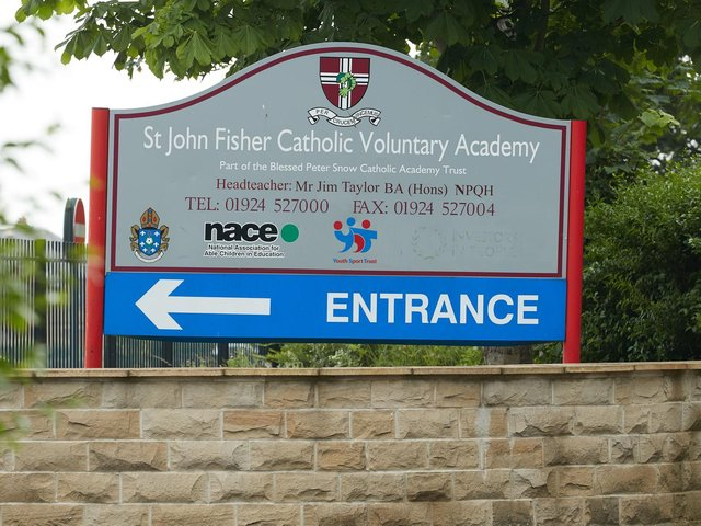 St John Fisher Catholic Voluntary Academy on Dewsbury