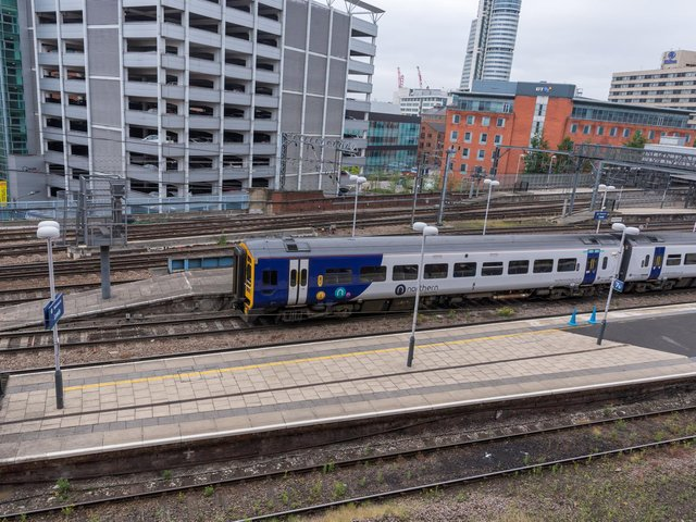 A graffiti gang has been sentenced for causing 50,000 pounds damage to trains and the rail line in Leeds and Sheffield