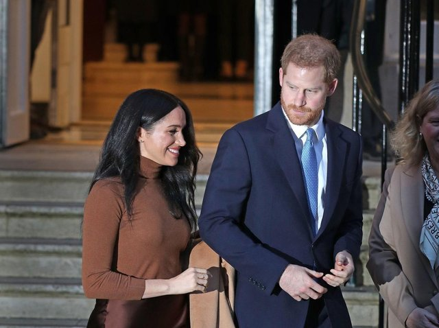 The Duke and Duchess of Sussex cc Yui Mok/PA Wire