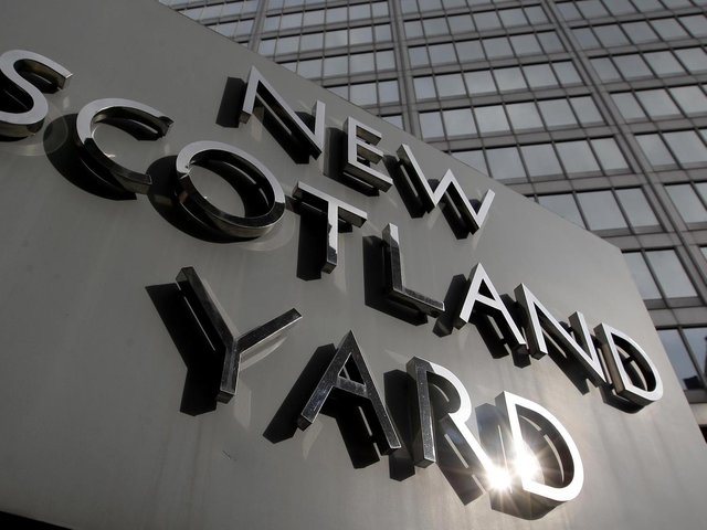 The Met Police are investigating a 'terrorist-incident' in London
