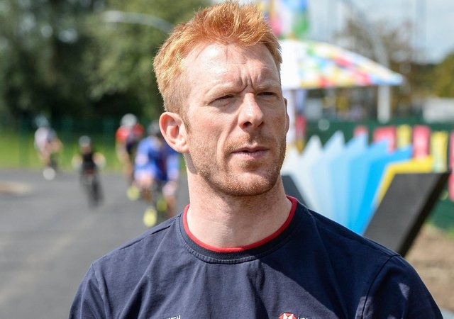 Olympic target: Ed Clancy.