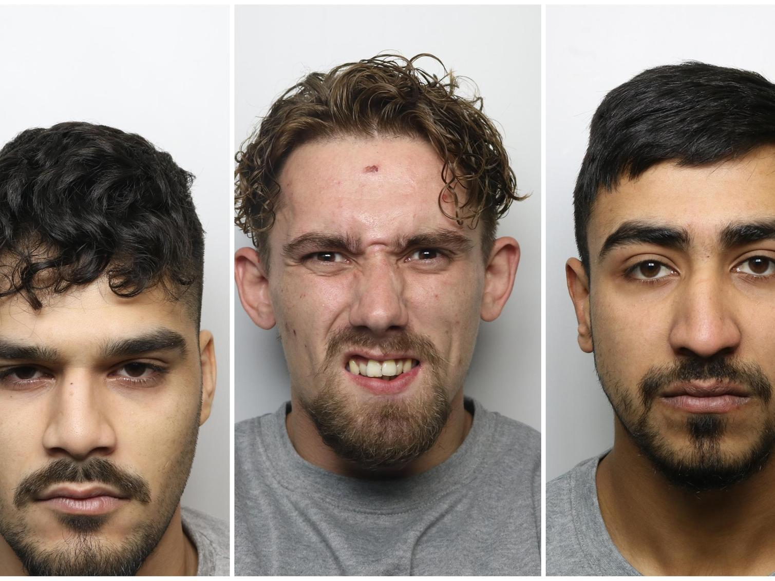 Torture gang who sadistically beat man to death and left his body in a street are jailed for life