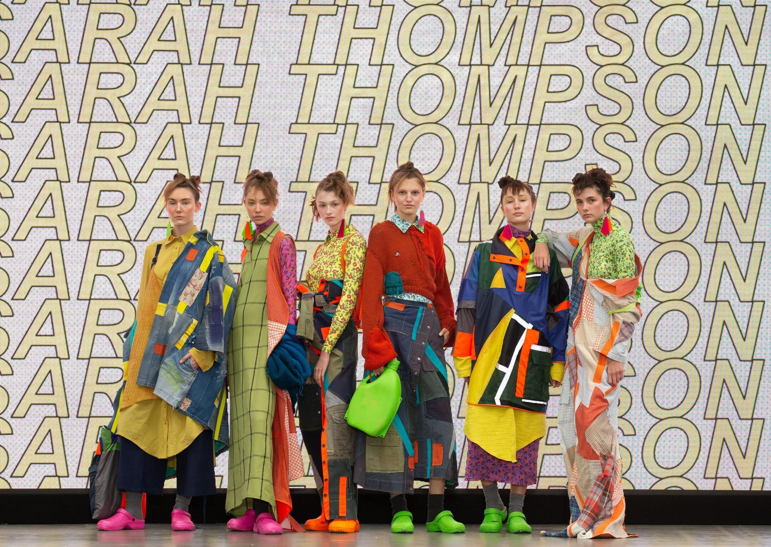 North Yorkshire fashion designer pays homage to her family farm