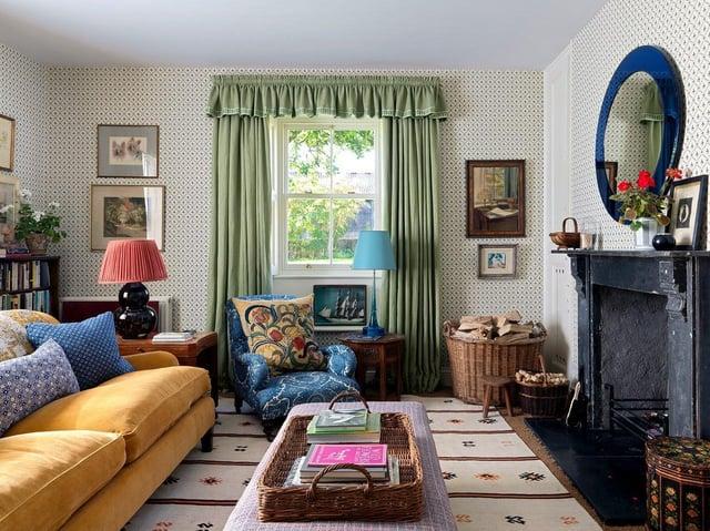 Interior Designer Rita Konig Has Turned, Nina Campbell Margot Bedding