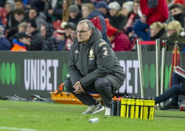 Marcelo Bielsa is far from relaxed when it comes to getting Leeds ...