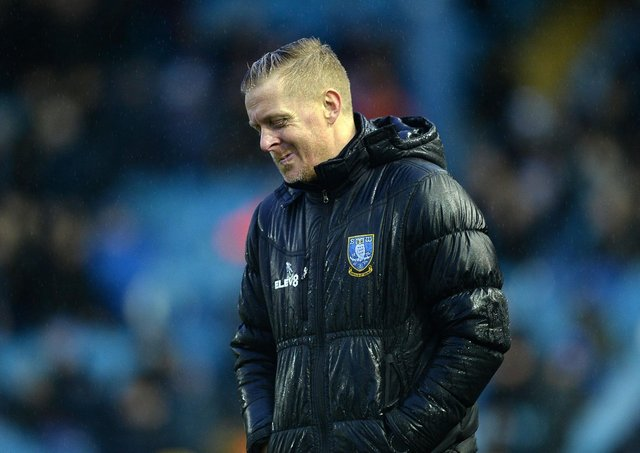 TOUGH TIMES: Sheffield Wednesday manager, Garry Monk. Picture: Steve Ellis