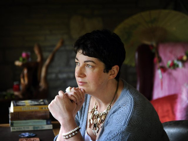 Author Joanne Harris.