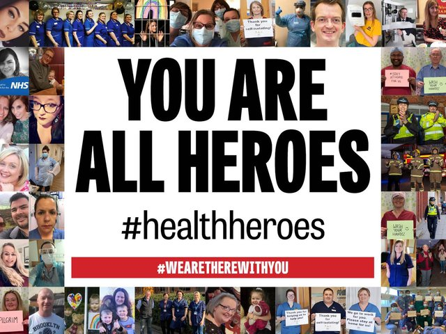 We salute our health heroes from across Yorkshire.