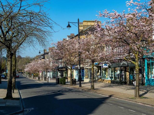 The Grove, in Ilkley, during springtime. (JPIMedia)