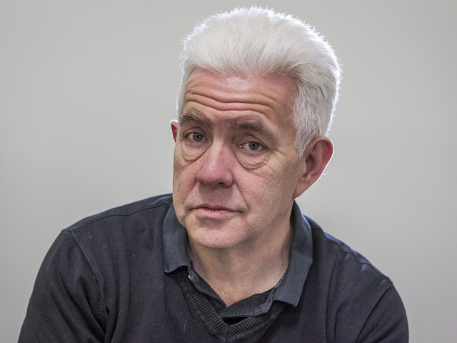 The Yorkshire Post columnist Ian McMillan, who has changed where he works as a result of the lockdown.
