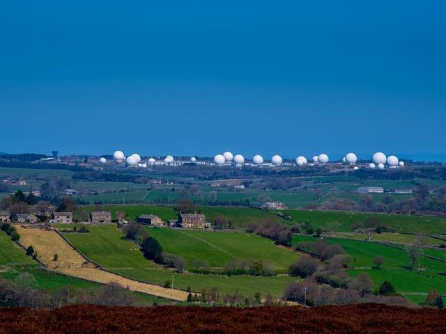 RAF Menwith Hill. Technical details: Camera Nikon D5, shutter speed 1/400sec, lens Nikon 70-200mm, aperture f/8.0, ISO 80. Photo: James Hardisty
