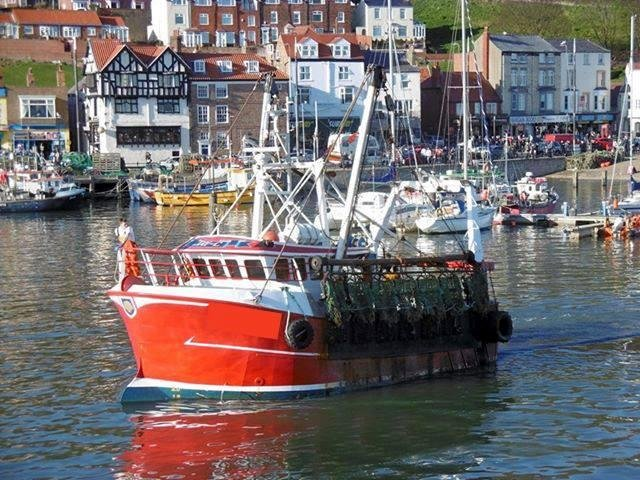 The fishing trawler which capsized