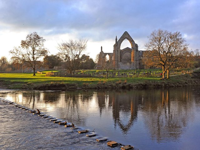 Open: Car parks, grounds and takeaway food service Closed: All indoor facilities Tickets must be pre-booked in advance on the Bolton Abbey website