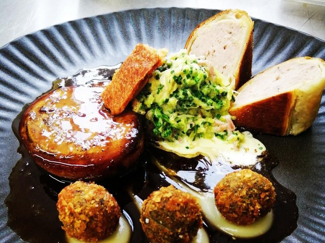 The Hovingham Inn is renowned for serving cutting-edge comfort food.