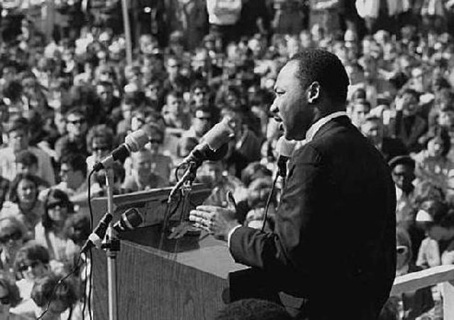 Dr Martin Luther King delivered his 'I have a dream' speech in 1963.